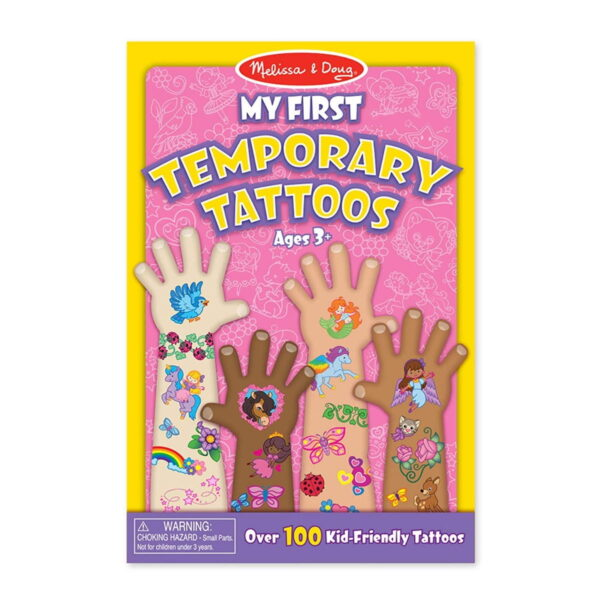 Melissa and doug My First Temporary Tattoo Blue-4479