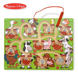 Melissa and Doug Magnetic Number Maze-0