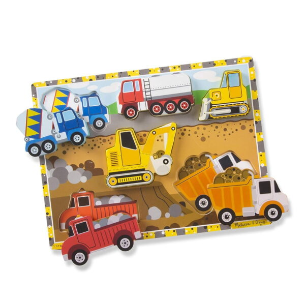 Melissa and Doug Construction Chunky Puzzle-4529