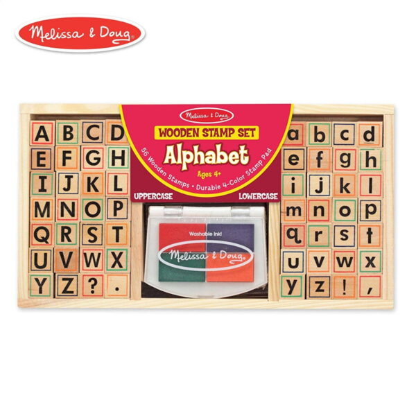Melissa and Doug Alphabet Stamp Set-0