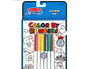 Melissa and doug Colour By Numbers Book-0