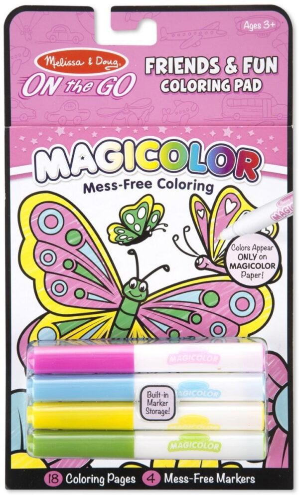 Melissa and doug Colouring Pad Farm Friendship & Fun-4265