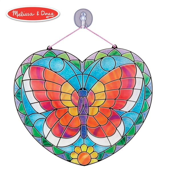 Melissa and Doug Stained Glass Butterfly-4910