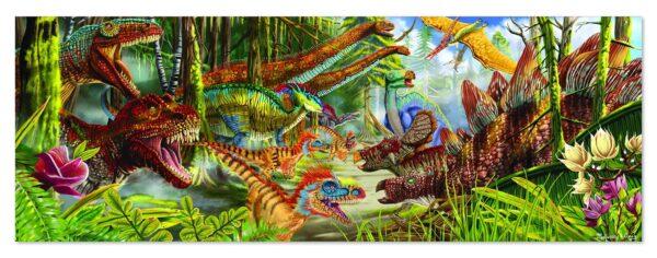 Melissa and Doug Dinosaur World Floor Puzzle-0