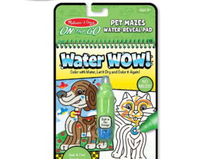 Melissa and Doug Water Wow Book Pet Mazes-0