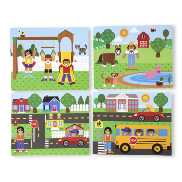 Melissa and Doug Magnetic Picture Game-5011