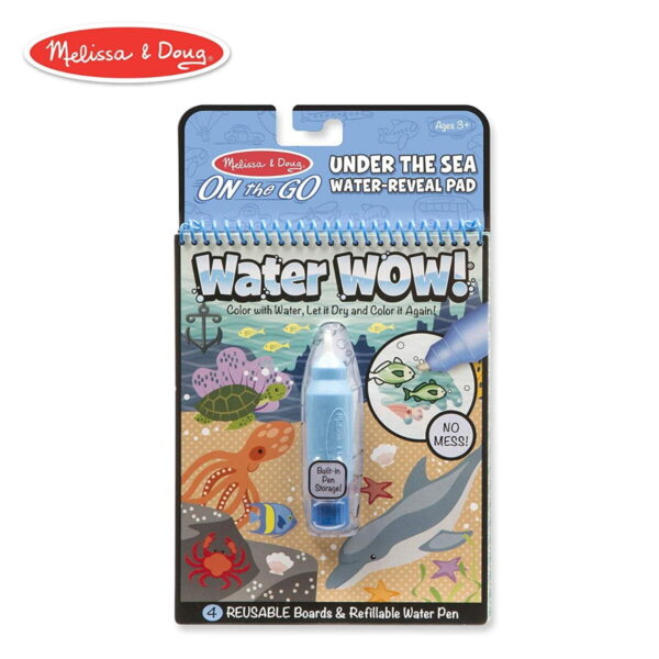 Melissa and Doug Water Reveal Pad Under The Sea-4278
