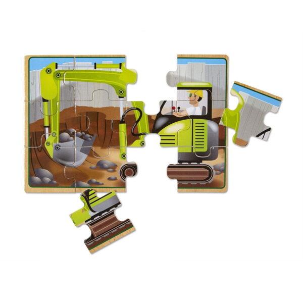Melissa and Doug Construction Jigsaw-4859