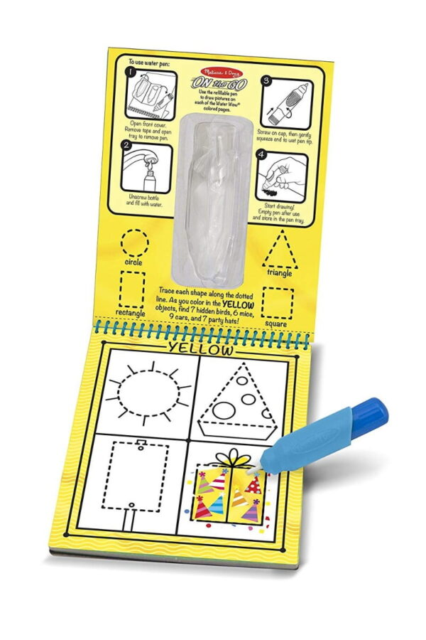 Melissa and Doug Water Reveal Pad Colours Shape-4274