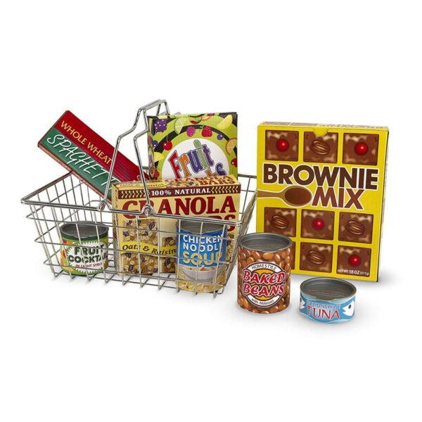 Melissa and Doug Shopping Basket-4672
