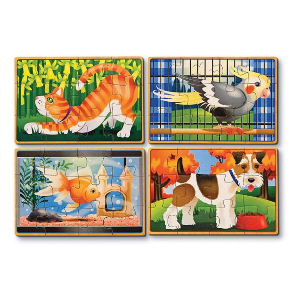 Melissa and Doug Pets Puzzles in Box-4557
