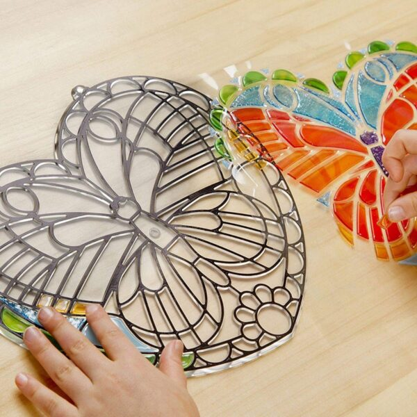 Melissa and Doug Stained Glass Butterfly-4912