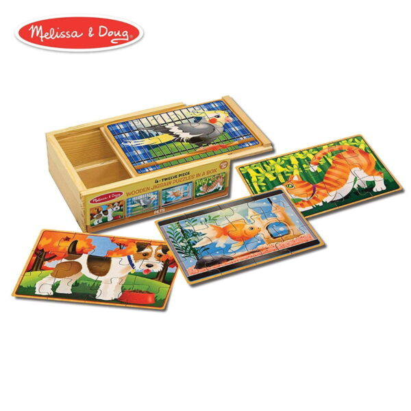Melissa and Doug Pets Puzzles in Box-4556