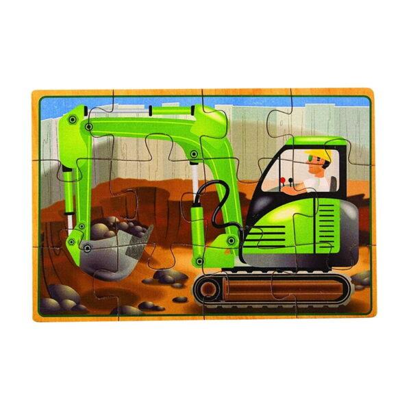Melissa and Doug Construction Jigsaw-4860