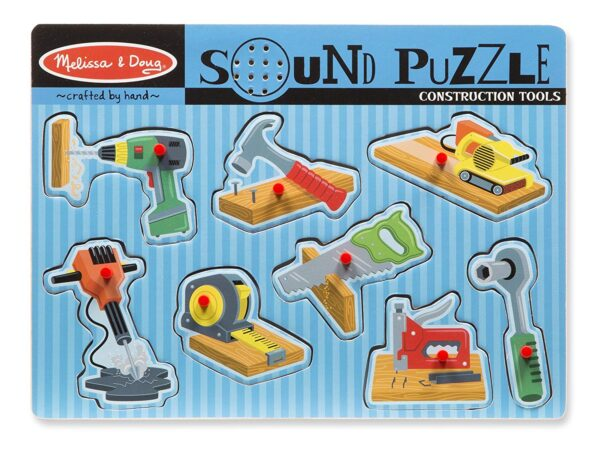 Melissa and Doug Construction Tools Puzzle-4364