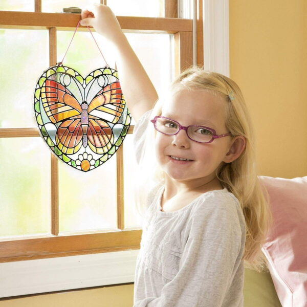 Melissa and Doug Stained Glass Butterfly-4913