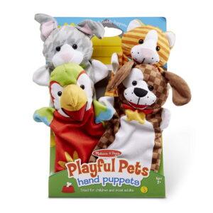 Melissa and Doug Playful Pets Animal Puppets-0