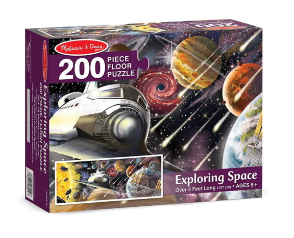 Melissa and Doug Exploring Space Floor Puzzle-0