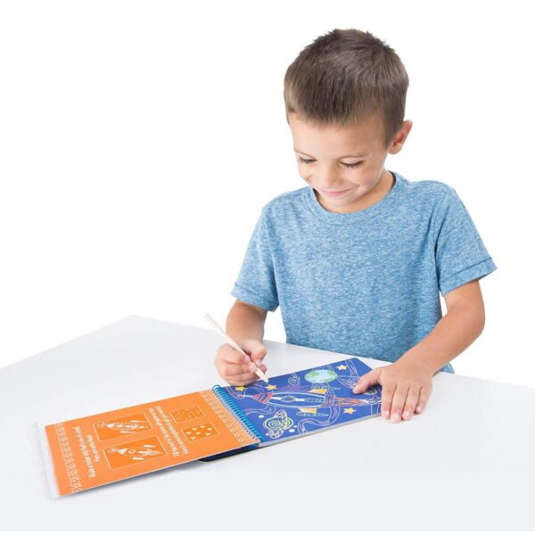 Melissa and Doug On The Go Scratch Art-4811