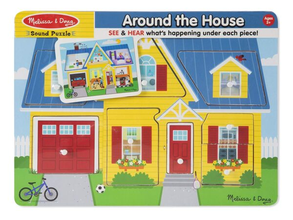 Melissa and Doug Around The House Puzzle-4369
