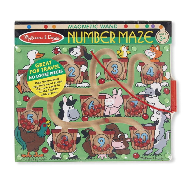 Melissa and Doug Magnetic Number Maze-4433