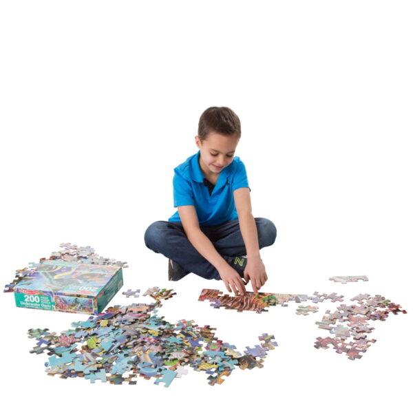 Melissa and Doug Underwater Oasis Floor Puzzle-4816
