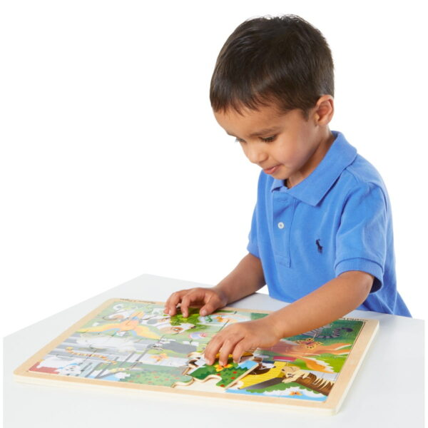 Melissa and Doug Pets Puzzles in Box-4555