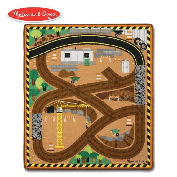 Melissa and Doug Construction Track Play Mat-0