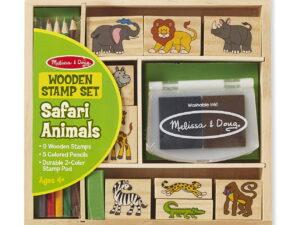 Melissa and Doug Safari Animal Stamp Set-0