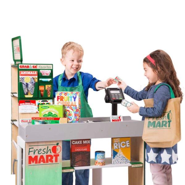 Melissa and Doug Fresh Mart Grocery Companion-4685