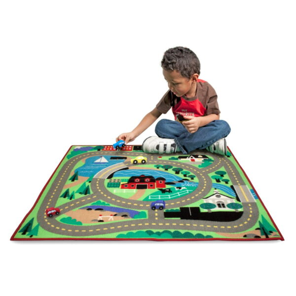 Melissa and Doug Round The Town Road Rug-4961