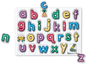Melissa and Doug  See Inside Alphabet Peg
