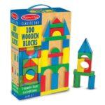 Melissa and Doug 100 Wood Blocks Set
