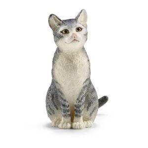 Schleich Cat Sitting-0