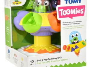 Tomy Toys Sort & Pop Spinning Ufo-0