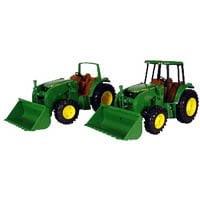 Tomy Toys John Deere 6195M Tractor-0