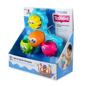 Tomy Toys Spin & Splash Octopals-0