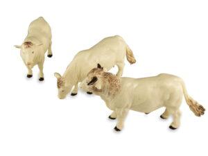 Britains Simmental/Charcolais Cows