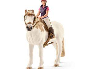Schleich Recreational Rider With Horse