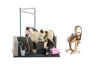 Schleich Horse Wash Area-0