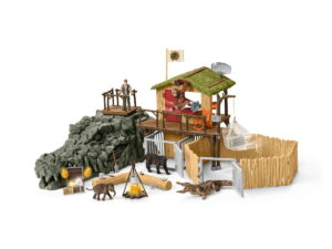 Schleich Croco Jungle Research Station-0