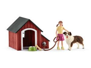 Schleich Dog Kennel-0