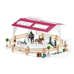 Schleich Riding School With Riders & Horses-0
