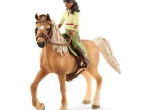 Schleich Horse Club Sarah & Mystery-0
