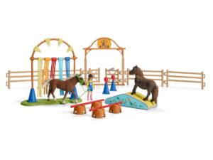 Schleich Pony Agility Training-0