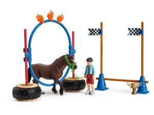 Schleich Pony Agility Race-0
