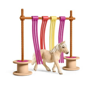 Schleich Pony Curtain Obstacle-0