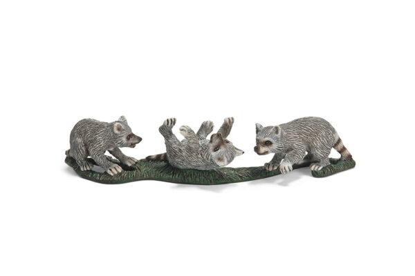 Schleich Raccoon Cubs-0