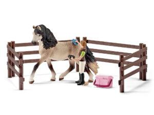 Schleich Horse Care Set Andulasian-0