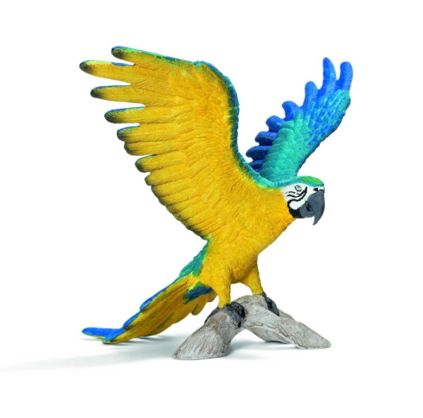 Schleich Blue & Yellow Macaw-0